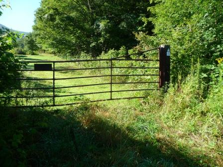 Fences with Gates along the Overmountain Victory Trail