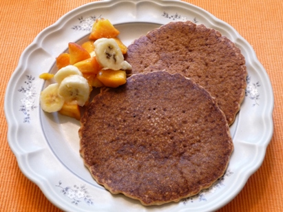 Vegan Buckwheat Pancakes from Isa Chandra Moskowitz