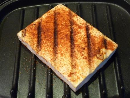 Barbequed Grilled Tofu