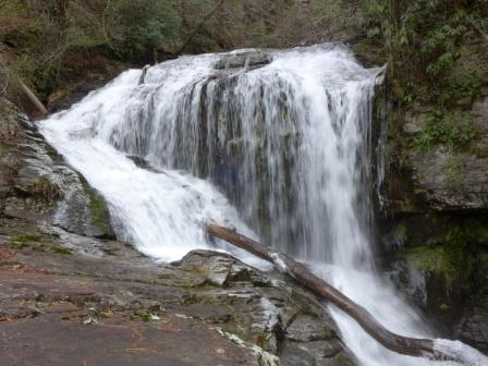 Lower Section of Laurel Fork Falls